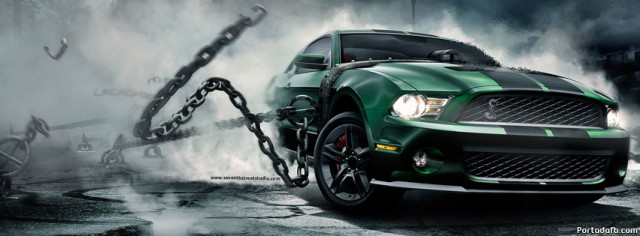 Portada Facebook Ford Mustang Monster