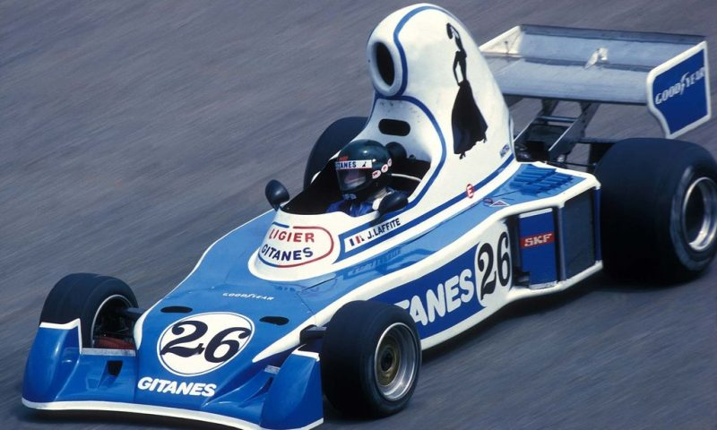 Ligier JS5, La tetera (1976)