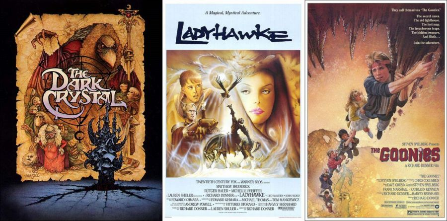 carátulas de películas míticas de los años 80