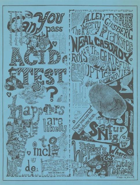 cartel festival can you pass the acid test en muir beach diciembre 1965 paul foster