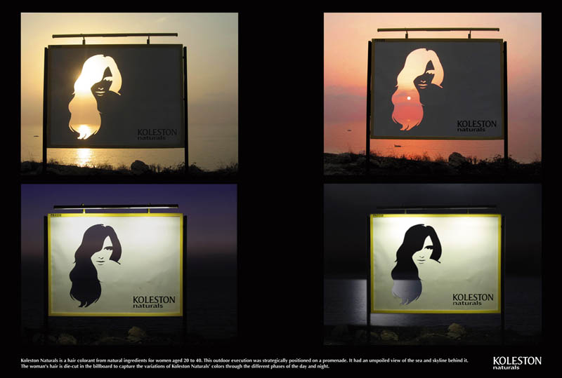 carteles publicitarios koleston naturals