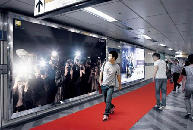 carteles publicitarios paparazzis