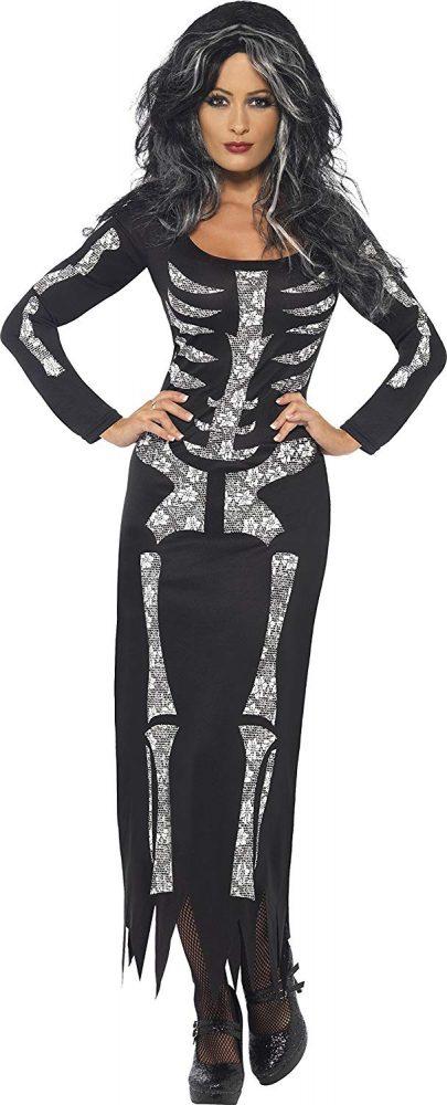 disfraces halloween 5 - esqueleto chica