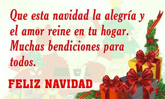 felicitaciones de navidad 10 que esta navidad la alegria y el amor reine en tu hogar