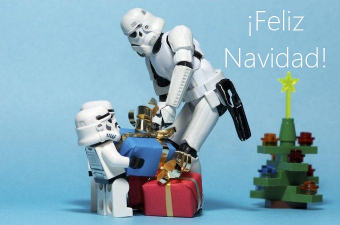 felicitaciones de navidad 6 star wars