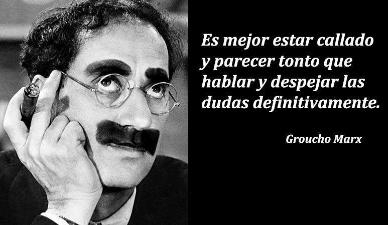 frases hilarantes de Groucho Marx