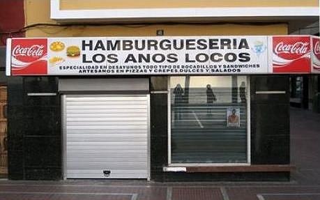 hamburgueseria los anos locos