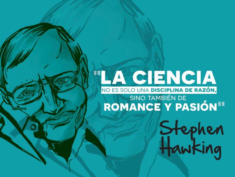 la ciencia no es solo una disciplina de la razon sino tambien del romance y la pasion