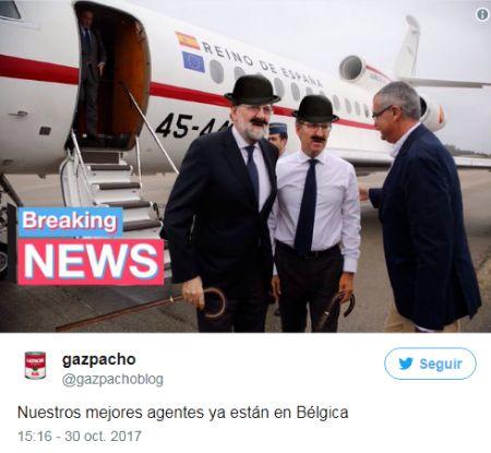 mariano rajoy nuñez feijoo nuestros mejores agentes ya estan en belgica
