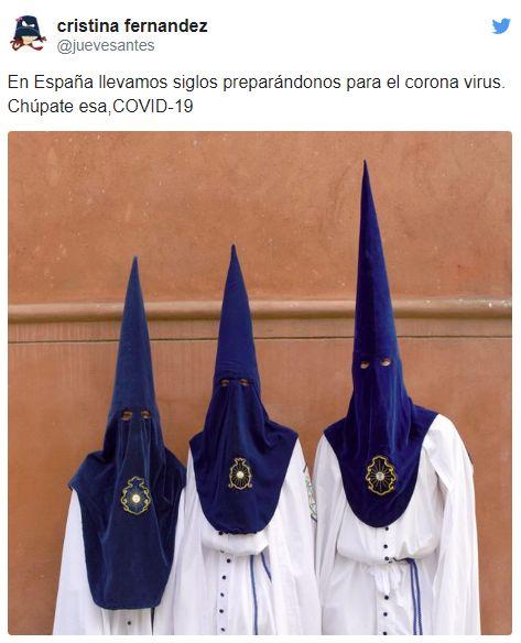 memes coronavirus cofrades semana santa llevamos años preparandonos