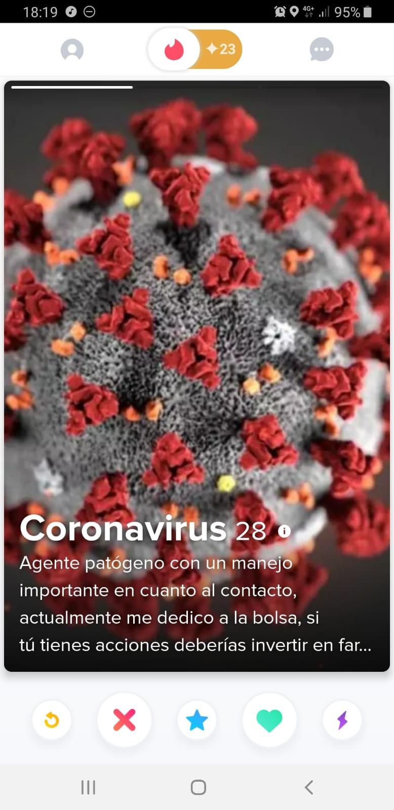 memes coronavirus coronavirus en tinder
