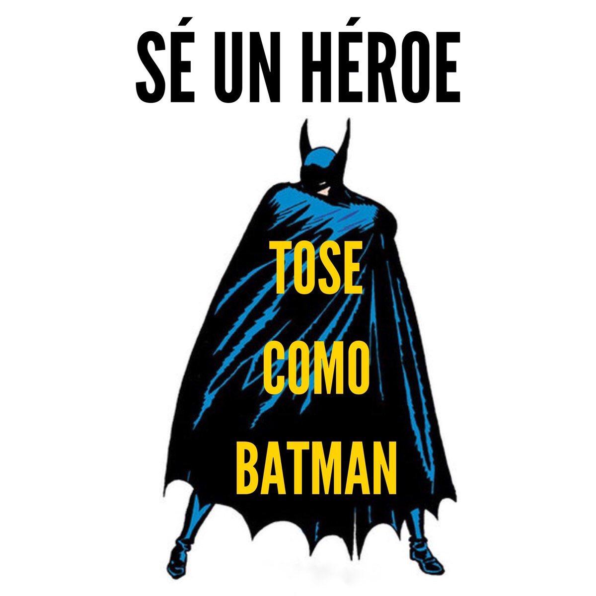 memes coronavirus se un heroe tose como batman