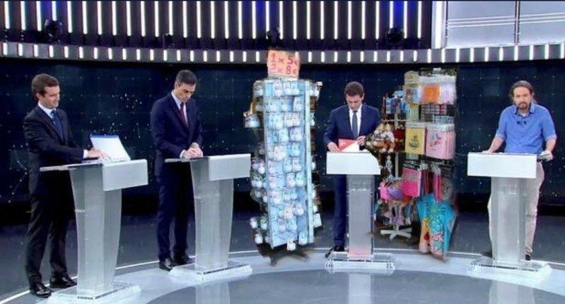 memes debate electoral 2019 albert rivera atrezzo