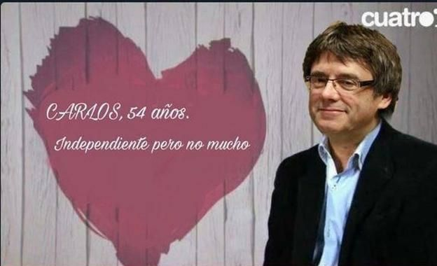 puigdemont first dates independiente pero no mucho