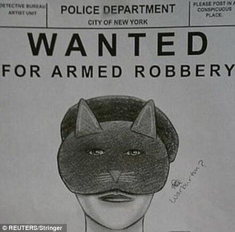 retrato robot inutil wtf - catwoman