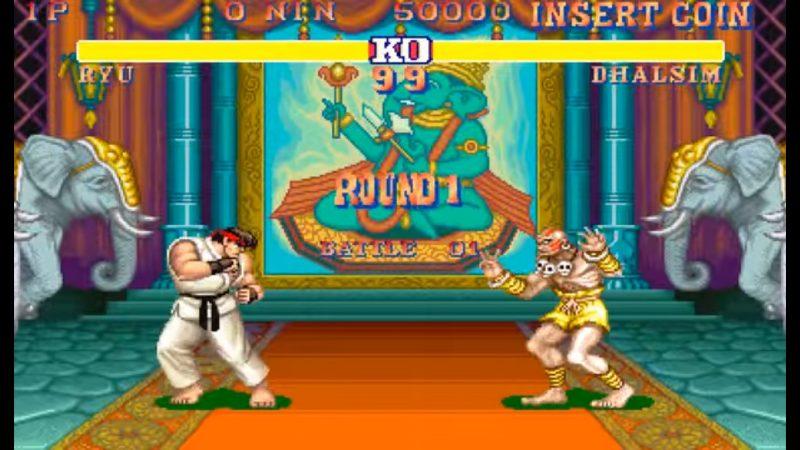 street fighter ii videojuegos clasicos